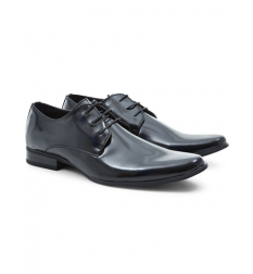 New Look Black Patent Gibson Shoes