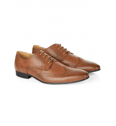 New Look Brown Lace Up Charlie Brogues