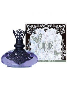 Guipure & Silk Crystal by Jeanne Arthes 100ml EDP