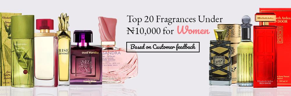Top 20 Fragrances Under ₦10,000 for Women