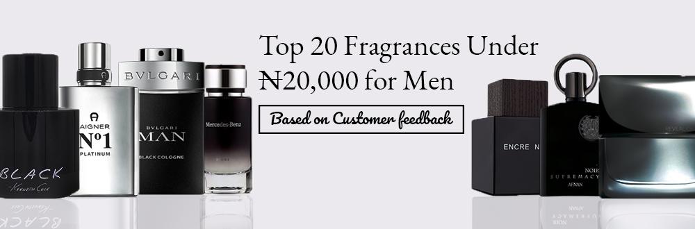 Top 20 Fragrances Under ₦20,000 for Men